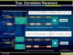 true correlation receivers