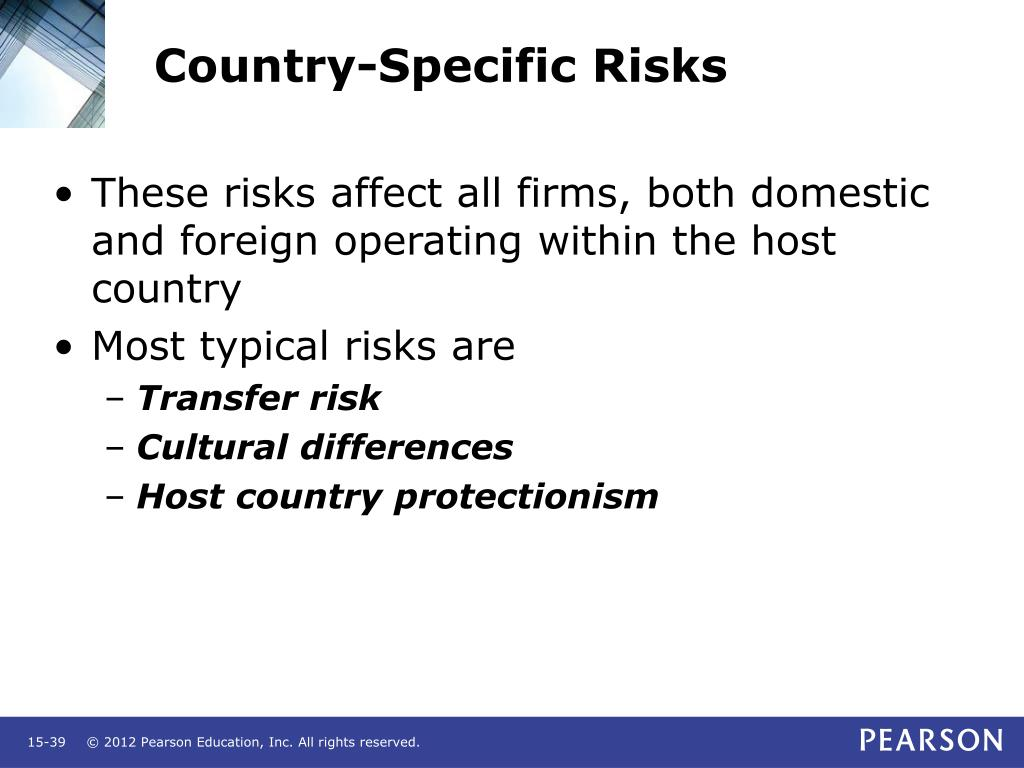 Country-Specific Risks