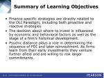 summary of learning objectives49