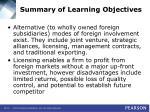 summary of learning objectives51