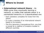 where to invest13