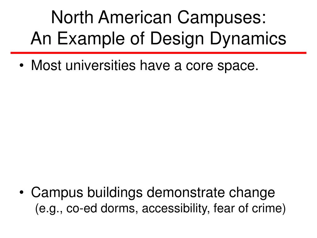 North American Campuses: