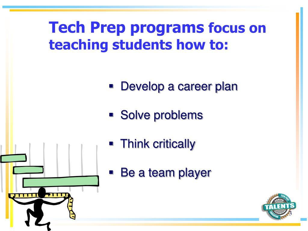 Tech Prep programs