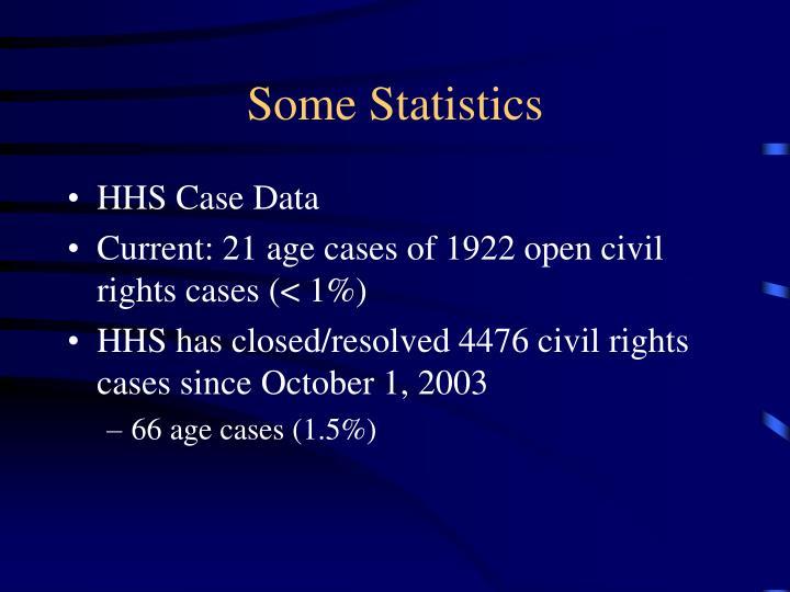 Some Statistics