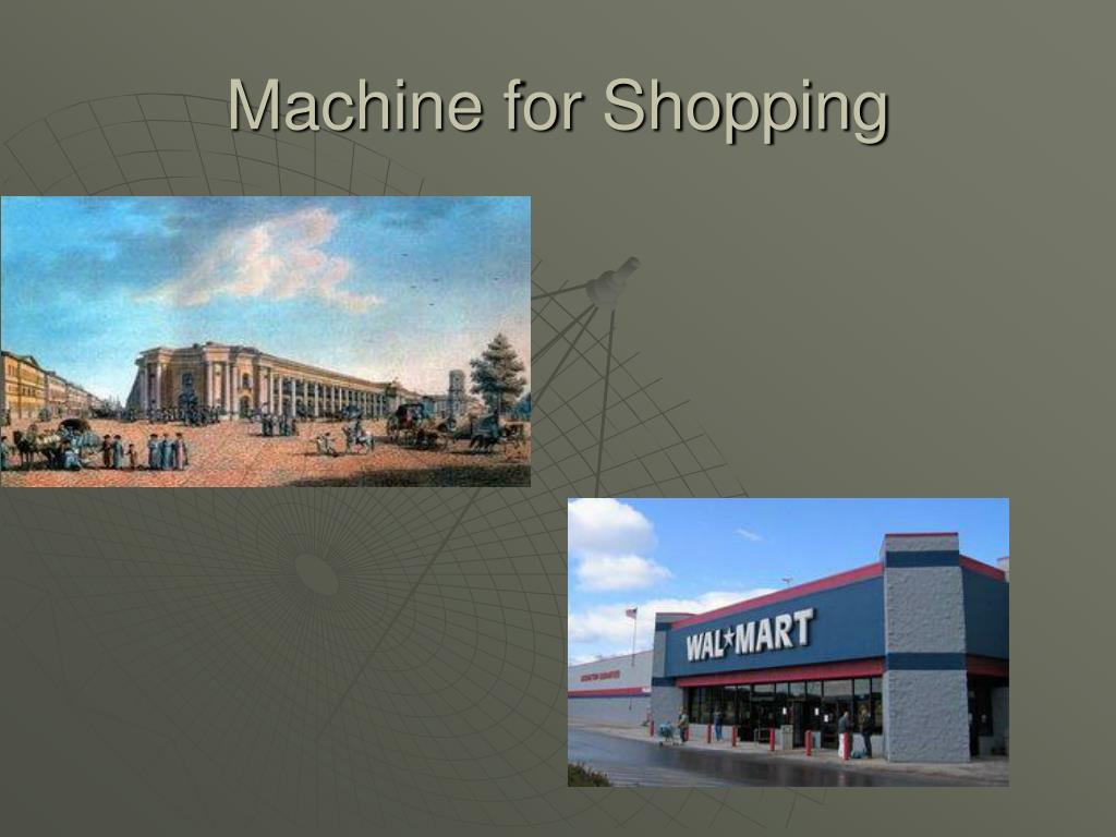 Machine for Shopping