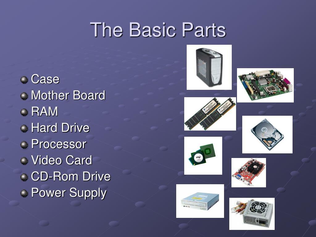 The Basic Parts