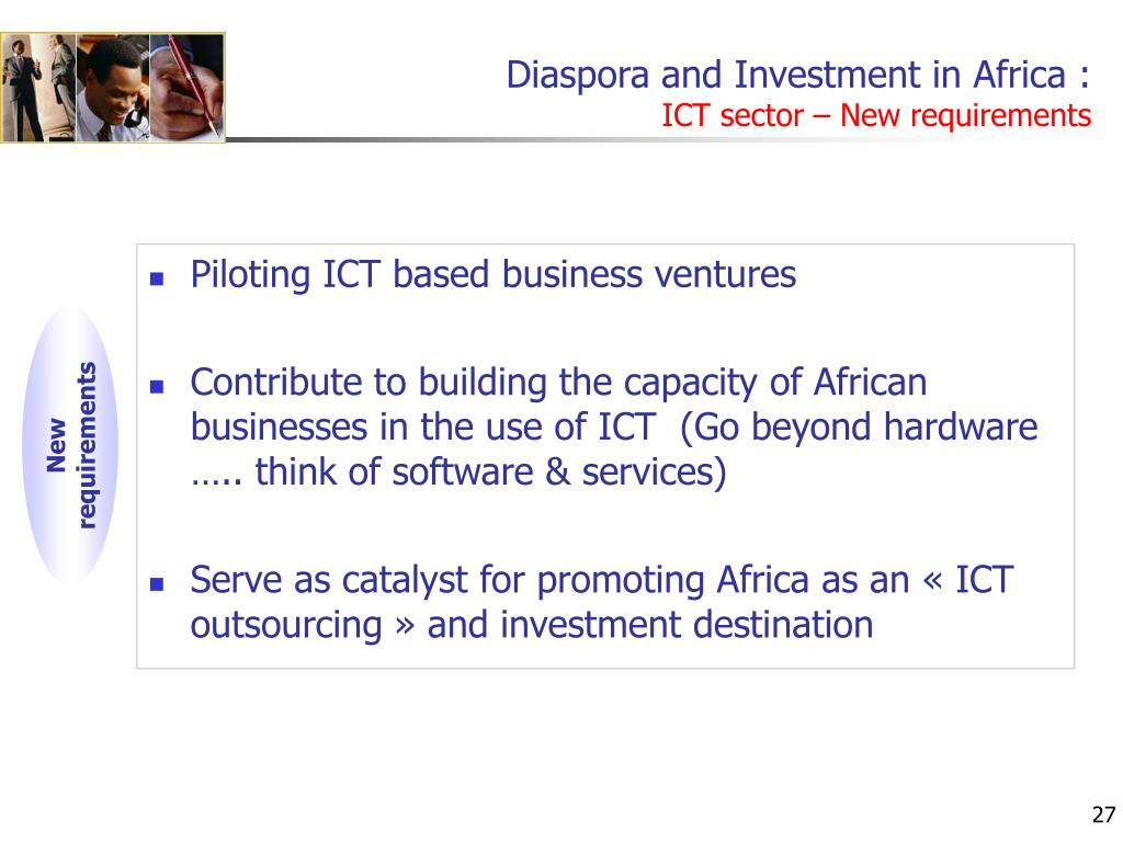Diaspora and Investment in Africa :