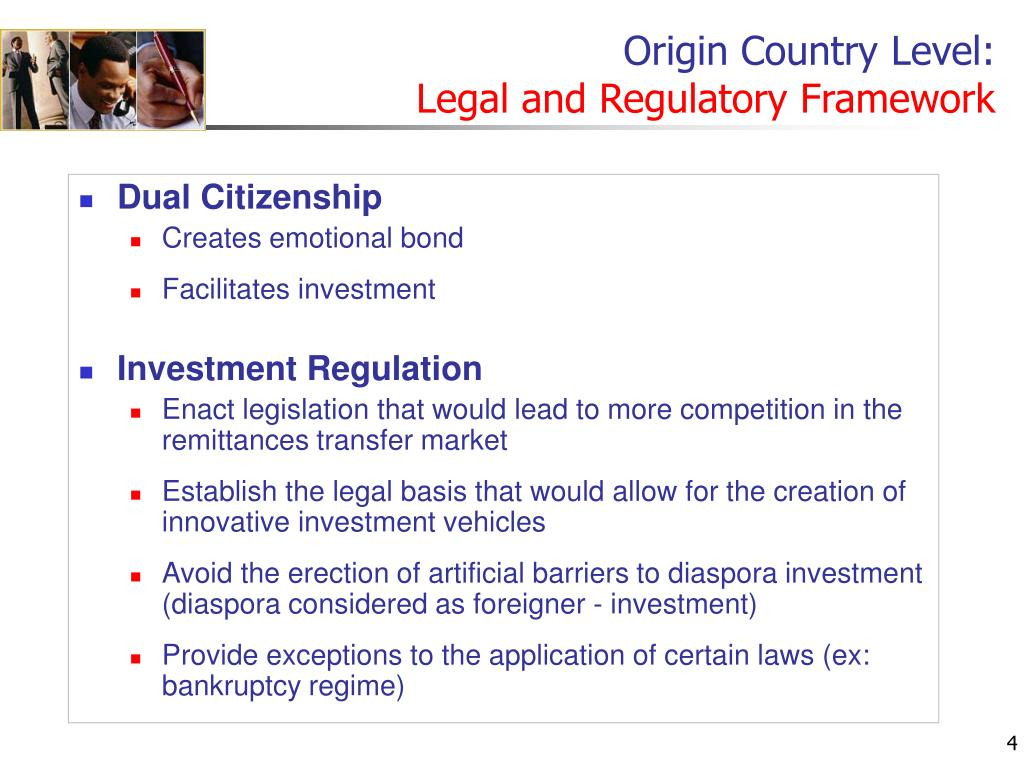 Origin Country Level: