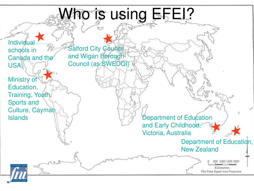 Who is using EFEI?