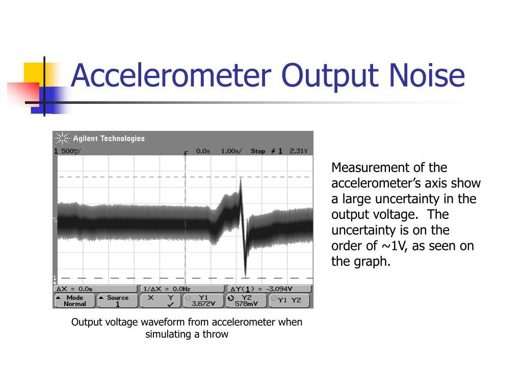 Accelerometer Output Noise