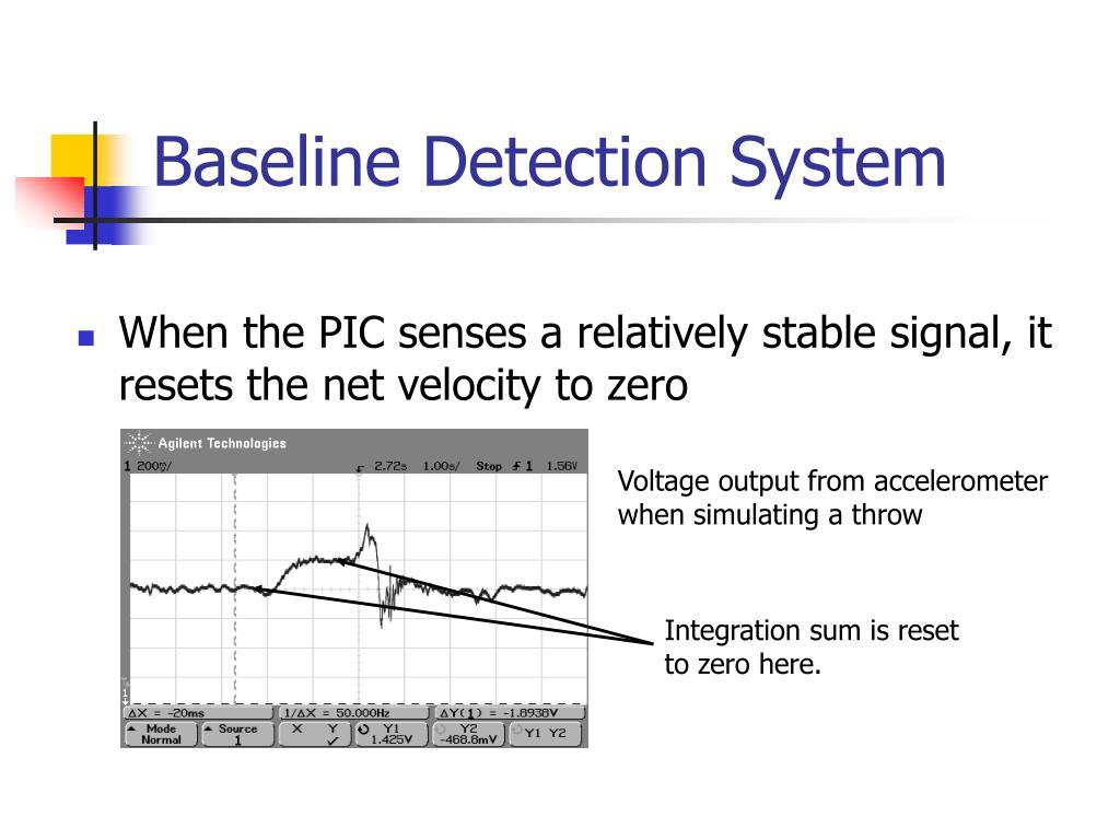 Baseline Detection System