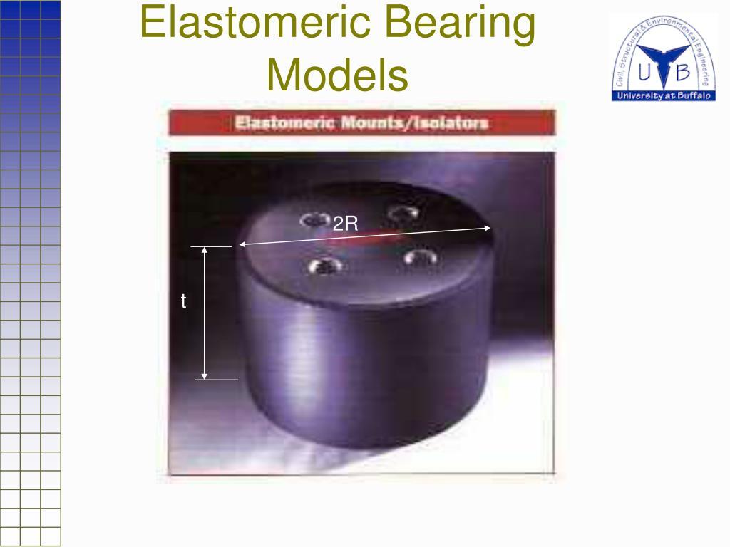 Elastomeric Bearing Models
