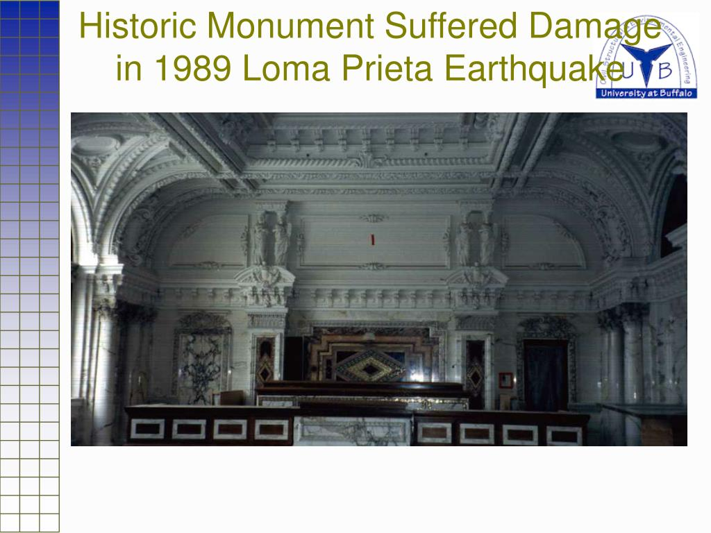 Historic Monument Suffered Damage