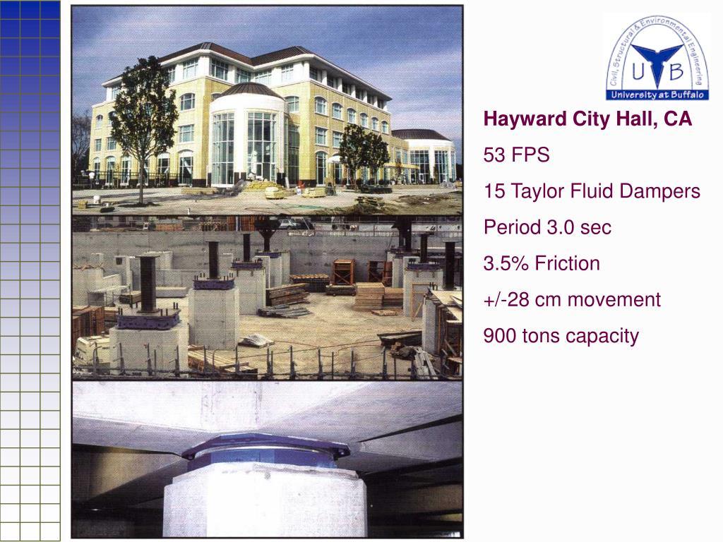Hayward City Hall, CA