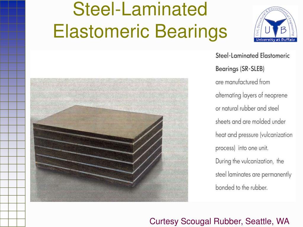 Steel-Laminated Elastomeric Bearings