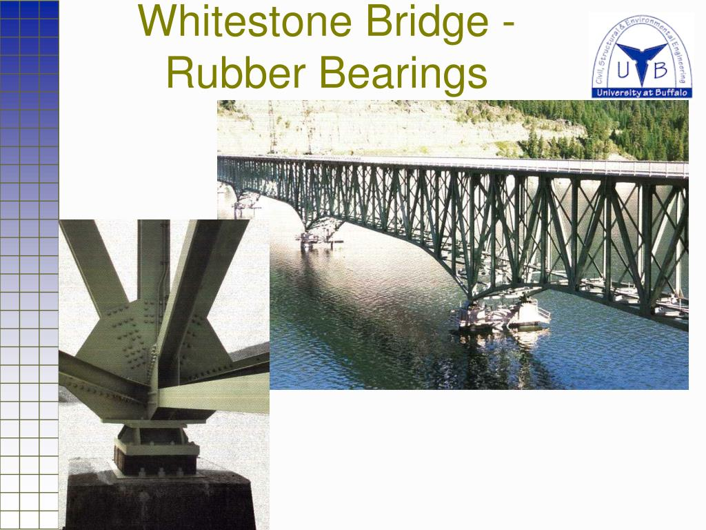 Whitestone Bridge - Rubber Bearings