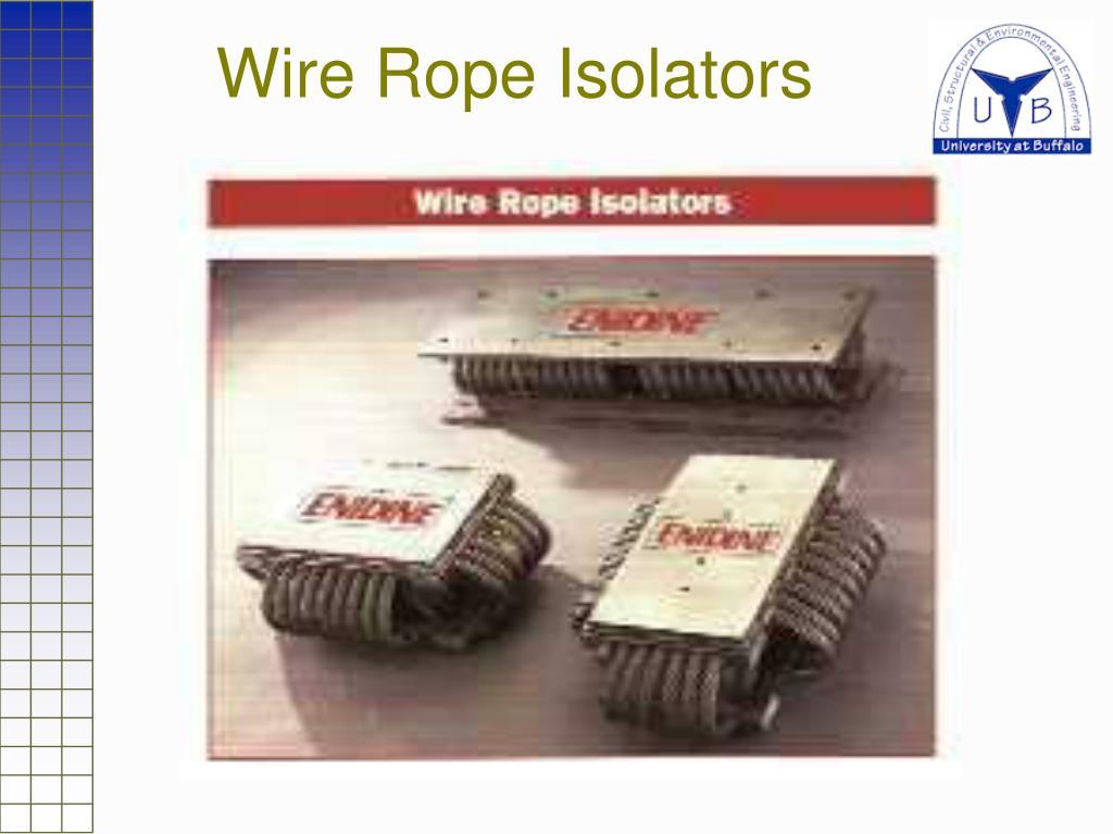 Wire Rope Isolators