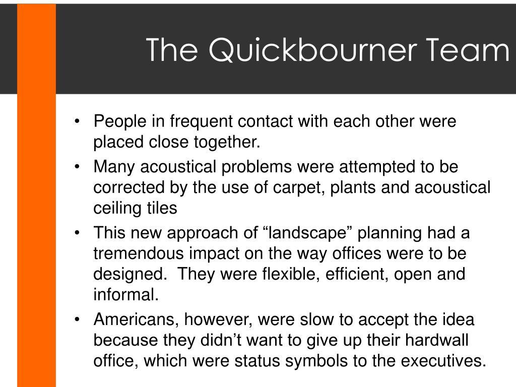 The Quickbourner Team