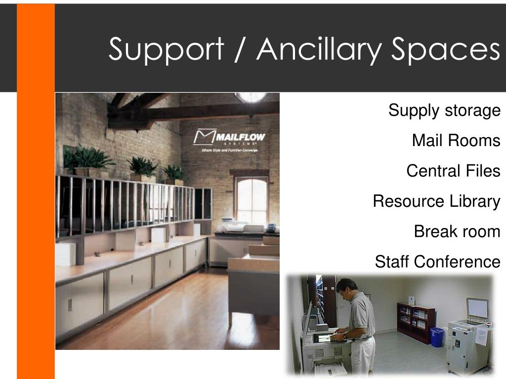 Support / Ancillary Spaces