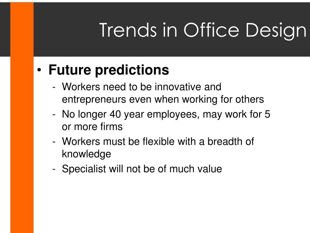 Trends in Office Design