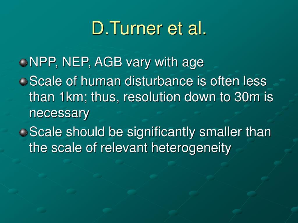 D.Turner et al.