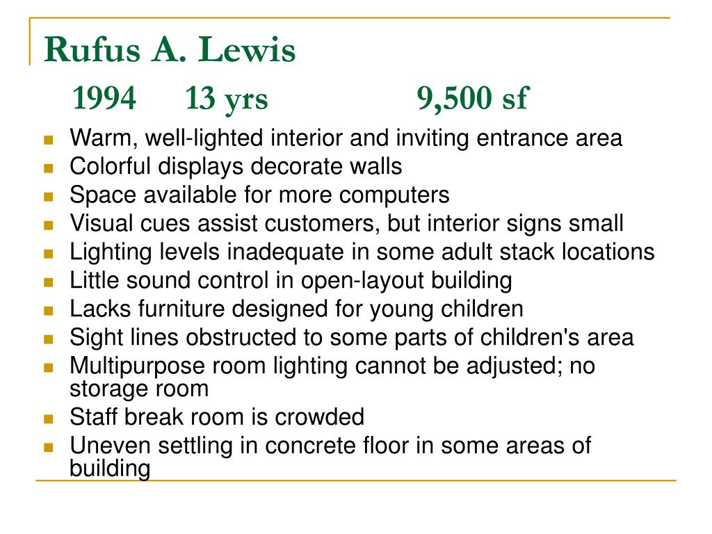 Rufus A. Lewis