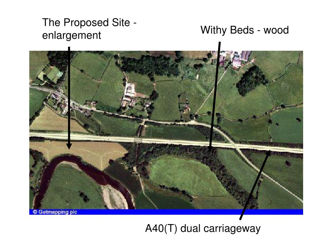 The Proposed Site - enlargement