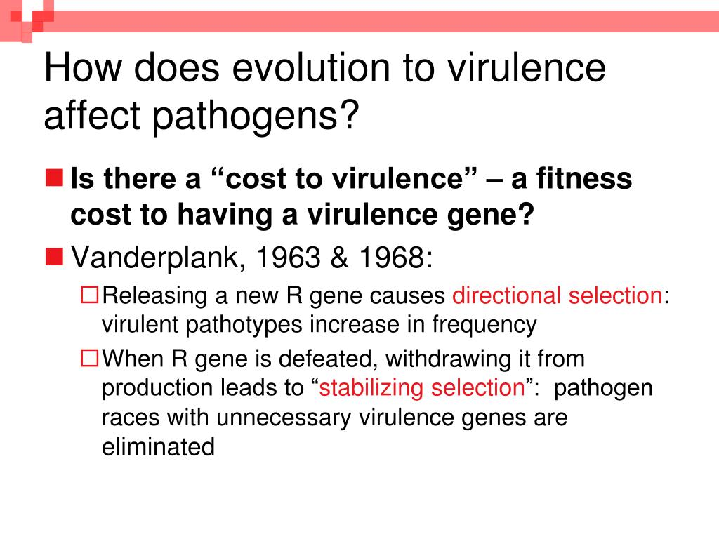 How does evolution to virulence affect pathogens?