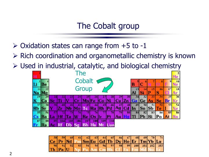 The cobalt group