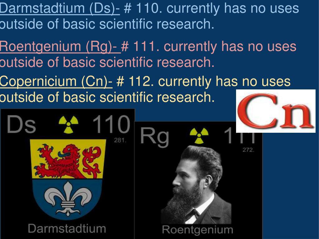 Copernicium (Cn)-