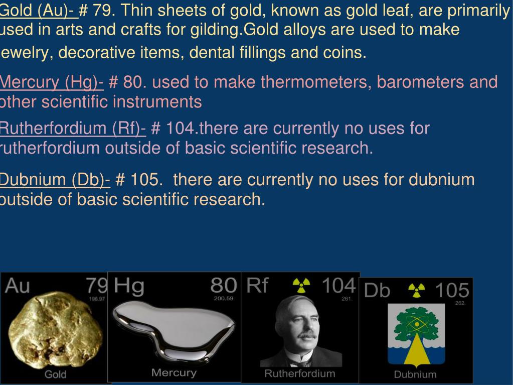 Gold (Au)-