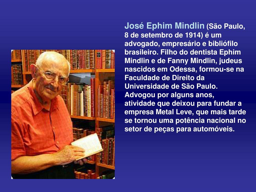 José Ephim Mindlin