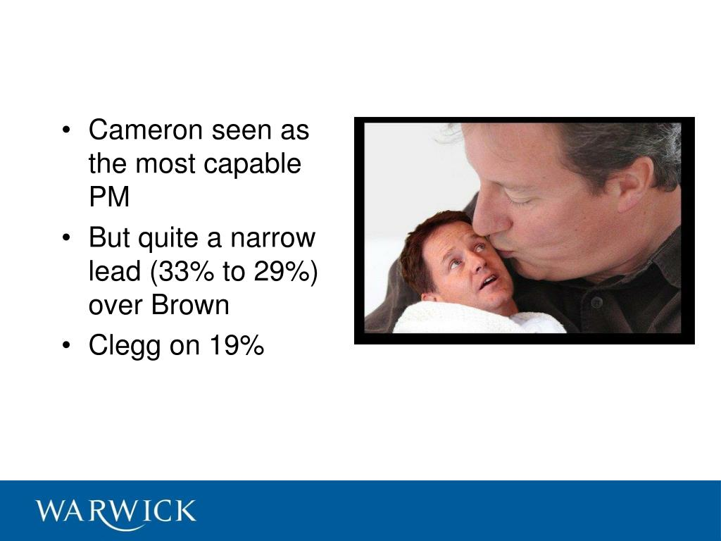 Cameron seen as the most capable PM