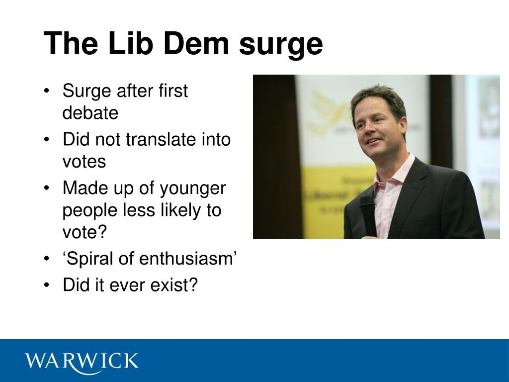 The Lib Dem surge