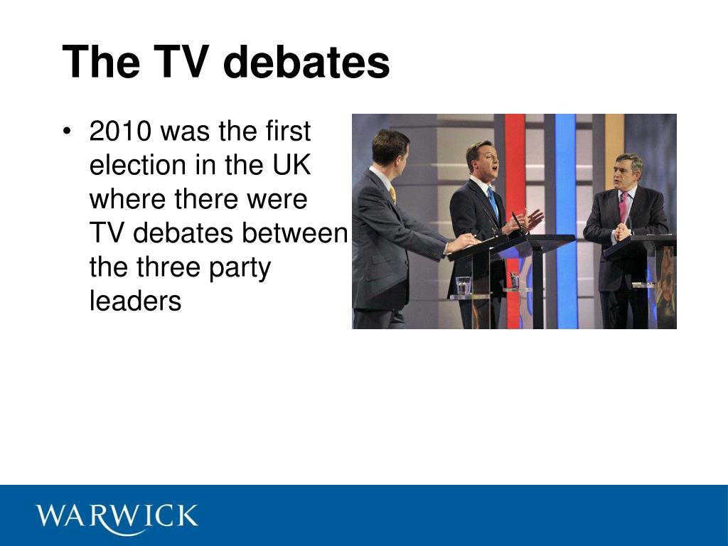 The TV debates