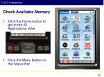 check available memory