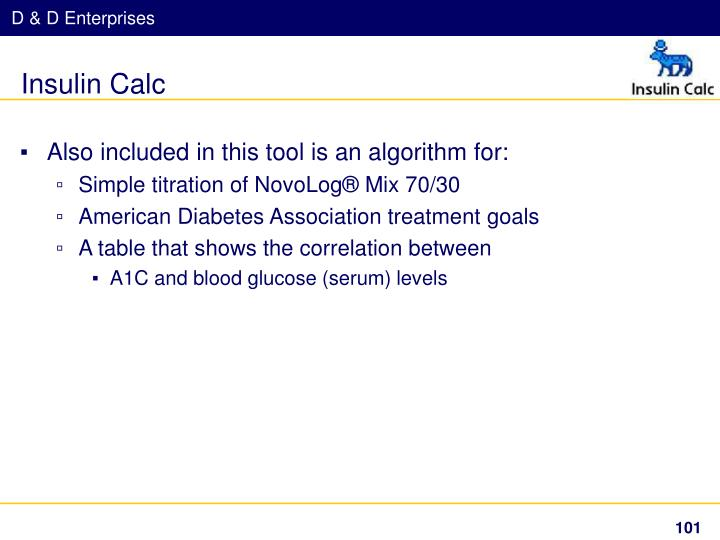 Insulin Calc
