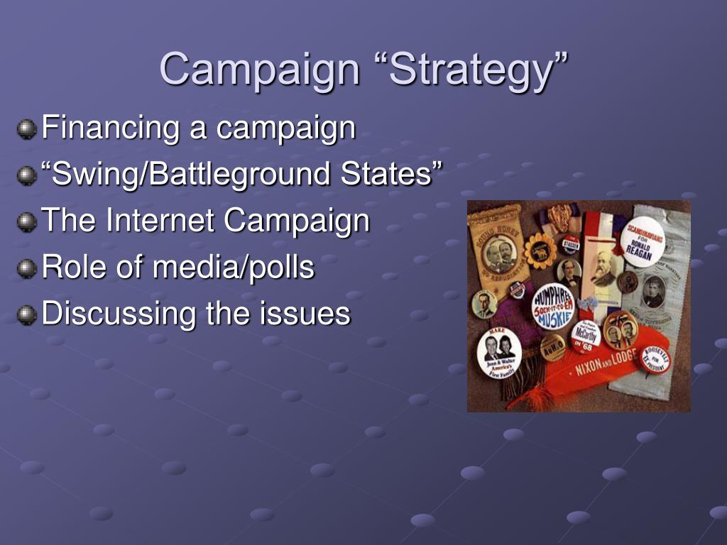 """Campaign """"Strategy"""""""