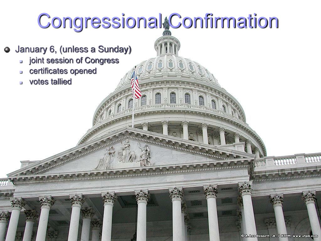Congressional Confirmation