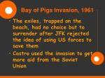 bay of pigs invasion 196119