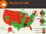 election of 196013