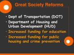 great society reforms46