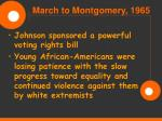 march to montgomery 196562