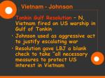 vietnam johnson