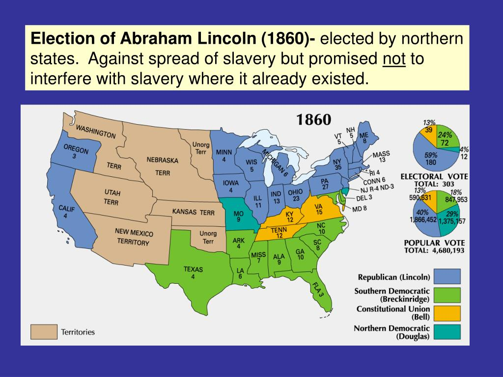 Election of Abraham Lincoln (1860)-