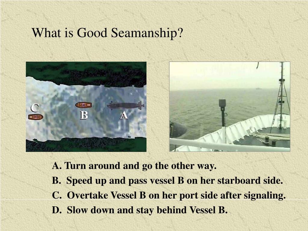 What is Good Seamanship?
