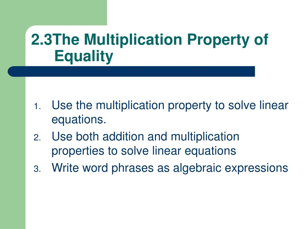 PPT - Section 2.1 Simplifying Algebraic Expressions ...
