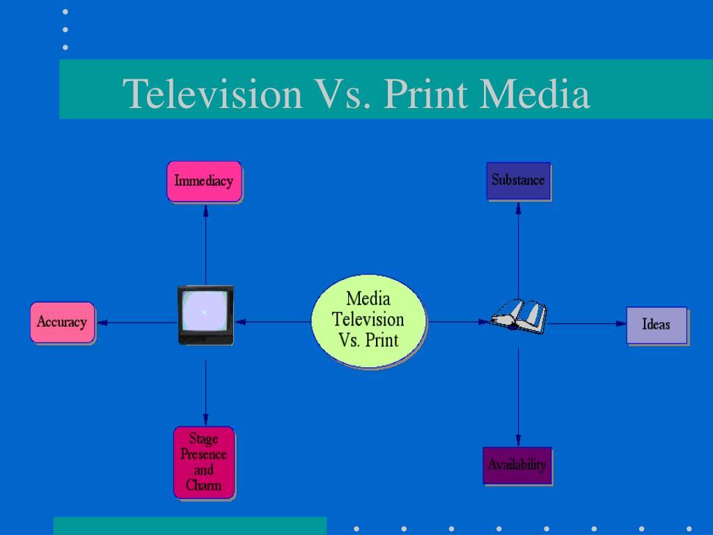 Television Vs. Print Media