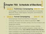 chapter 703 schedule of elections8