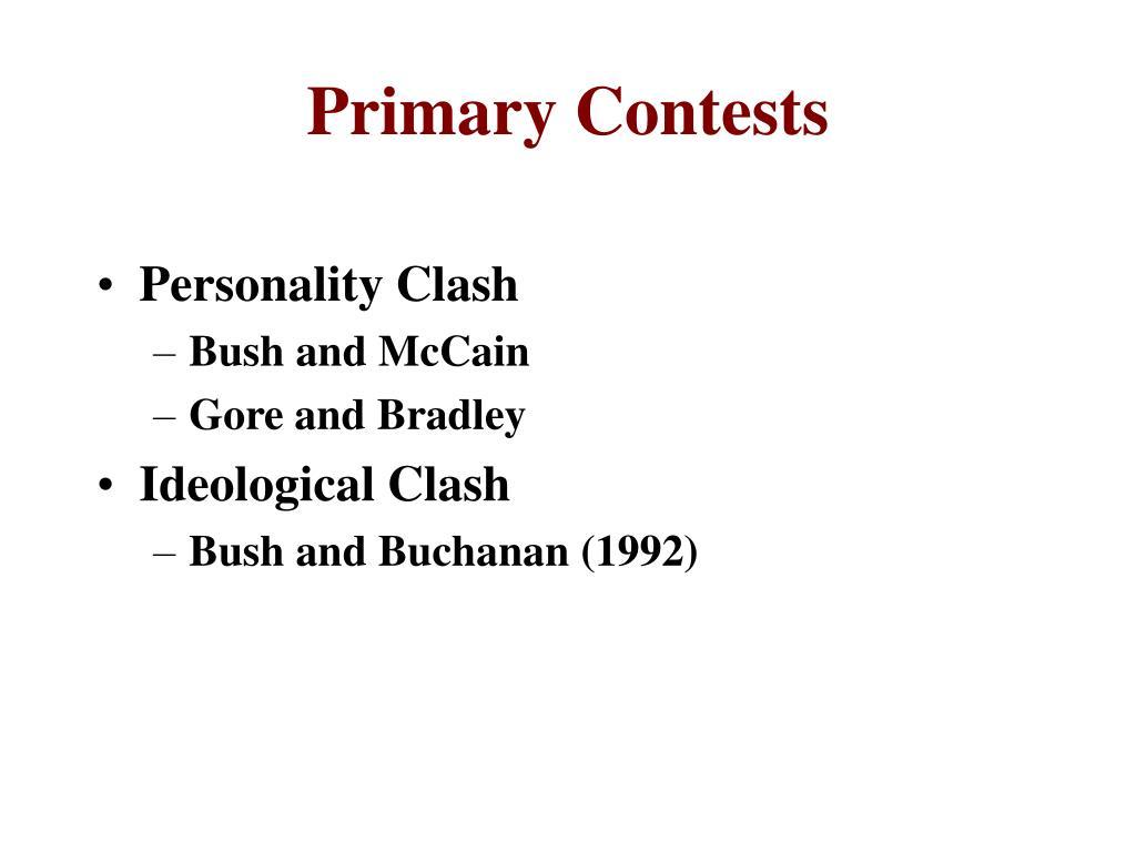 Primary Contests